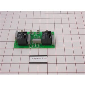 (2) A.S. BOARD (110 V MP W / GB) *REPLACES 137084