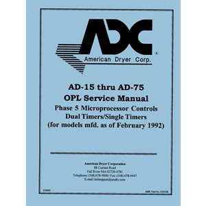 alliance laundry systems parts manual